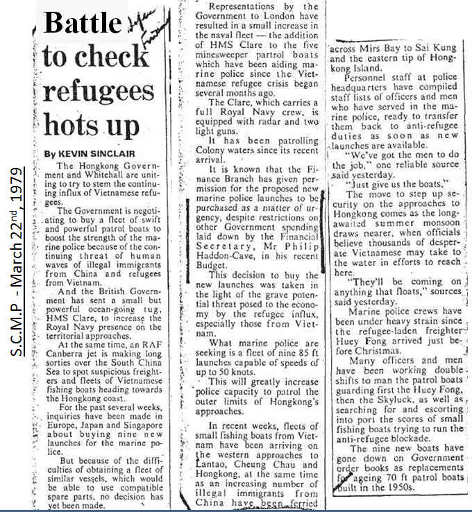 Battle to check refugees hots up (SCMP - 03221979).jpg